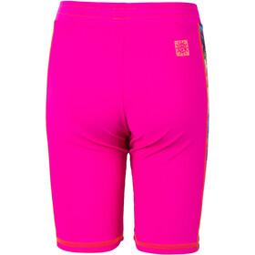 Color Kids Troy AOP UPF Shorts Kids pink glo